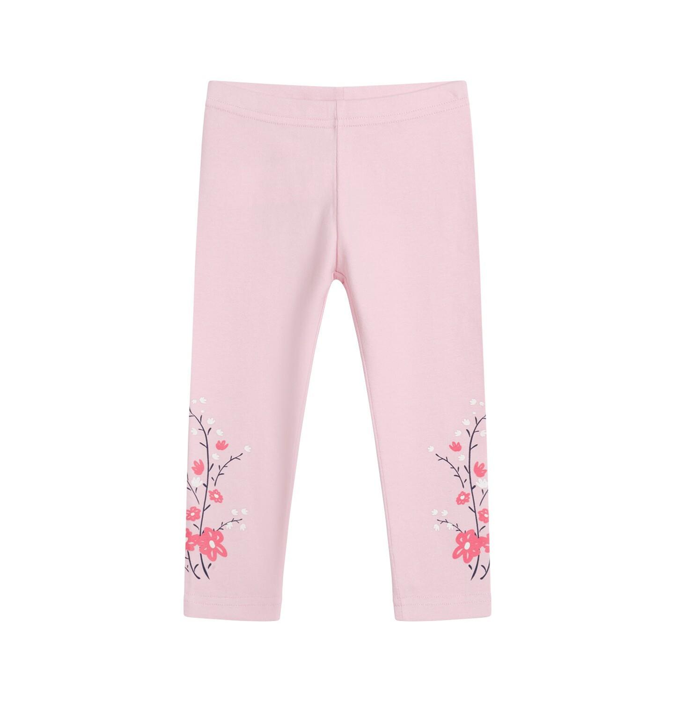 Endo - Legginsy dla dziecka do 2 lat, różowe N04K022_1