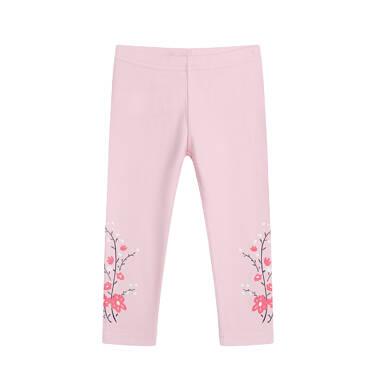 Endo - Legginsy dla dziecka do 2 lat, różowe N04K022_1 8
