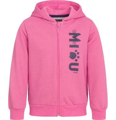 Bluza rozpinana z kapturem dla dziewczynki 9-13 lat D92C508_1