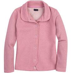 Endo - Rozpinana bluza ze srebrną nitką dla dziewczynki 3-8 lat D62C008_2
