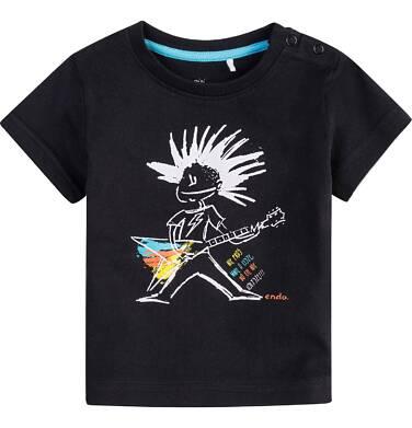 Endo - Bluzka z krótkim rękawem  dla dziecka 0-3 lat N71G103_1