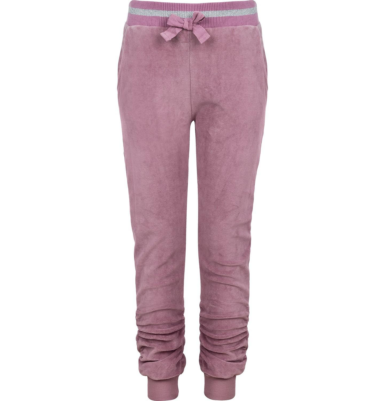 Endo - Spodnie welurowe dla dziewczynki 3-8 lat D82K011_1