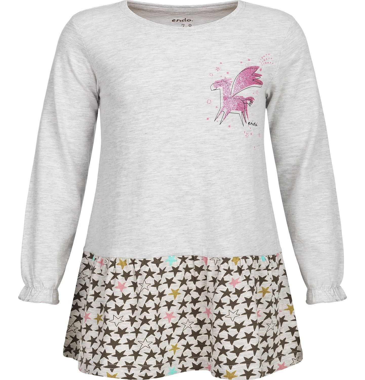 Endo - T-shirt z długim rękawem dla dziewczynki 9-13 lat D82G560_1