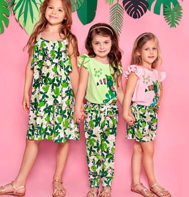 Endo - Spodnie dla dziewczynki 3-8 lat D91K059_1