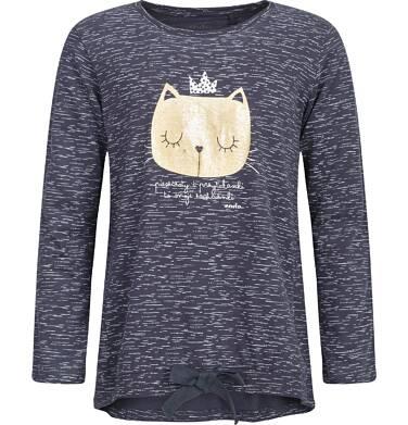 Endo - T-shirt z długim rękawem dla dziewczynki 9-13 lat D82G561_1