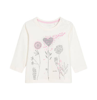 Endo - Bluzka z długim rękawem dla dziecka 0-3 lata N92G098_1