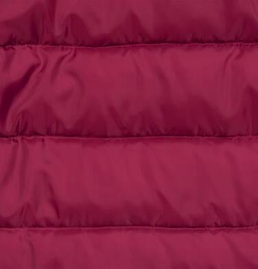 Endo - Długa kurtka zimowa, płaszcz z kapturem, malinowy, 9-13 lat D04A012_2,7