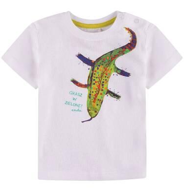 Endo - Bluzka z krótkim rękawem  dla dziecka 0-3 lat N71G074_1