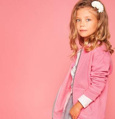 Endo - Bluza rozpinana z kapturem dla dziewczynki 3-8 lat D82C003_2