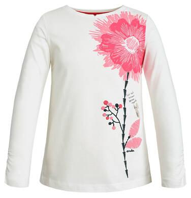 Endo - T-shirt z długim rękawem dla dziewczynki 9-13 lat D82G565_1