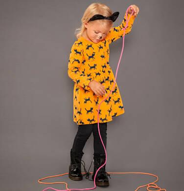 Endo - Sukienka z długim rękawem dla dziewczynki 9-13 lat D92H536_1