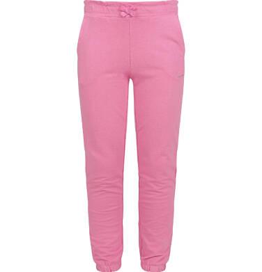 Endo - Spodnie dresowe dla dziewczynki, różowe, 2-8 lat D03K069_3 3