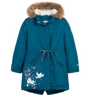 Endo - Długa kurtka parka zimowa z kapturem, 2-8 lat D04A020_1 22