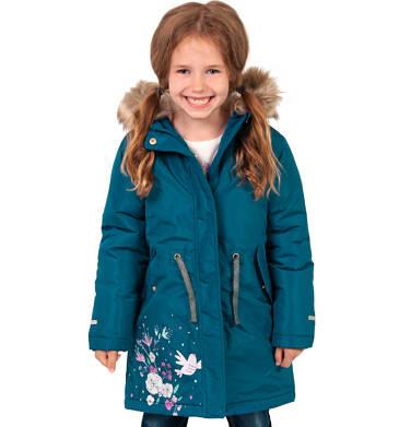 Endo - Długa kurtka parka zimowa z kapturem, 2-8 lat D04A020_1 7