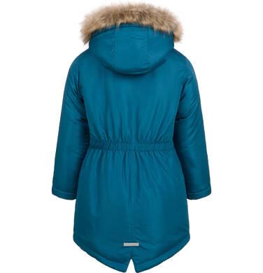 Endo - Długa kurtka parka zimowa z kapturem, 2-8 lat D04A020_1,6