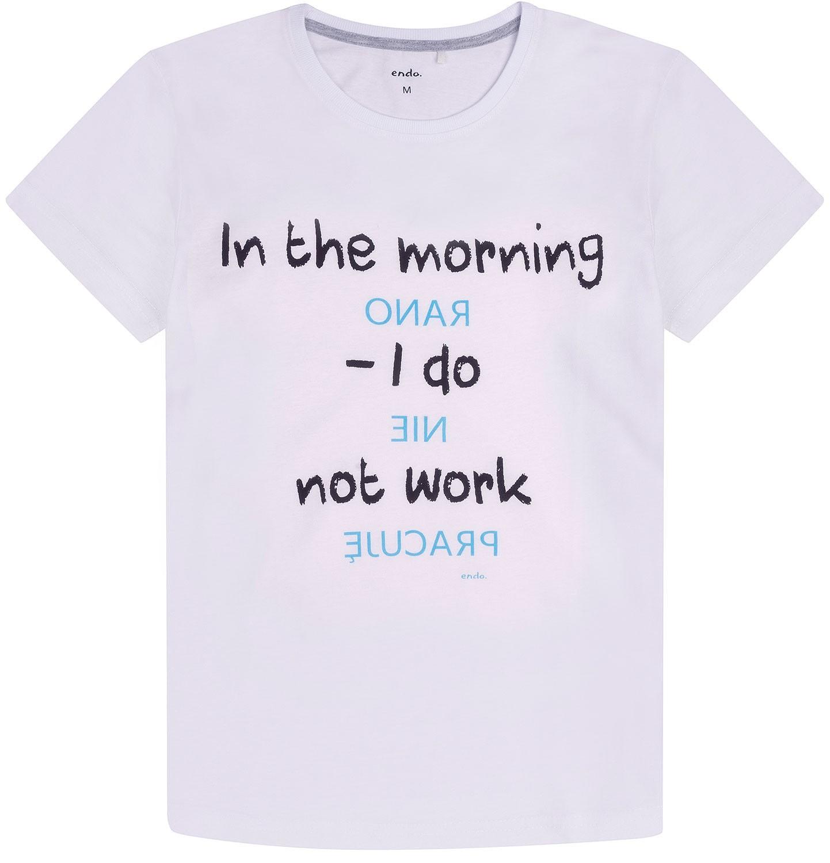 Endo - T-shirt męski Q72G011_1