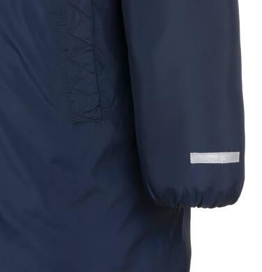 Endo - Długa kurtka zimowa, płaszcz z kapturem, granatowy, 2-8 lat D04A021_1,9