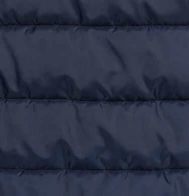 Endo - Długa kurtka zimowa, płaszcz z kapturem, granatowy, 2-8 lat D04A021_1,6