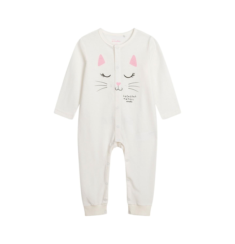 Endo - Pajac dla dziecka do 2 lat, z kotem N04N021_1