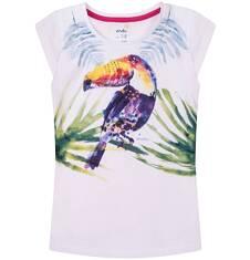 Bluzka z krótkim rękawem dla dziewczynki 9-13 lat D71G646_1