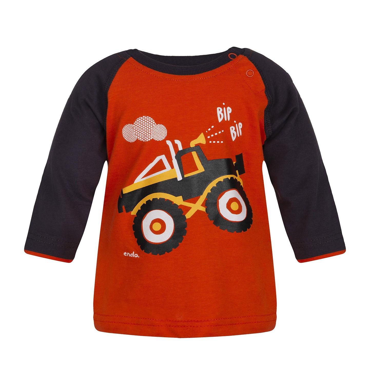 Endo - T-shirt z długim rękawem dla dziecka 0-3 lata N82G010_1