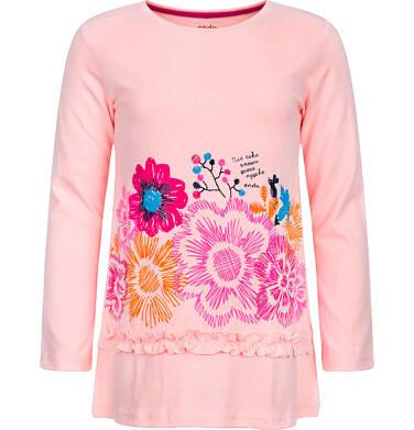 Endo - T-shirt z długim rękawem dla dziewczynki 9-13 lat D82G566_2