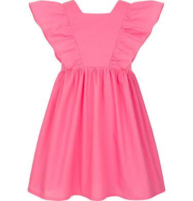 Endo - Sukienka z krótkim rękawem dla dziewczynki 3-8 lat D91H056_1