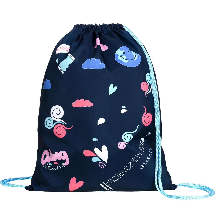 Endo - Plecak - worek, dziewczyny rządzą, granatowy SD03G014_1