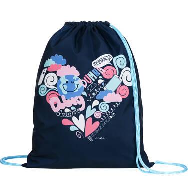 Endo - Plecak - worek, dziewczyny rządzą, granatowy SD03G014_1 3
