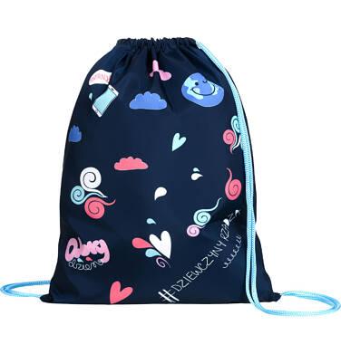 Endo - Worek-plecak dla dziewczynki, dziewczyny rządzą, granatowy SD03G014_1 188