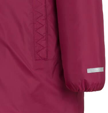 Endo - Długa kurtka zimowa, płaszcz z kapturem, malinowy, 2-8 lat D04A021_2,10