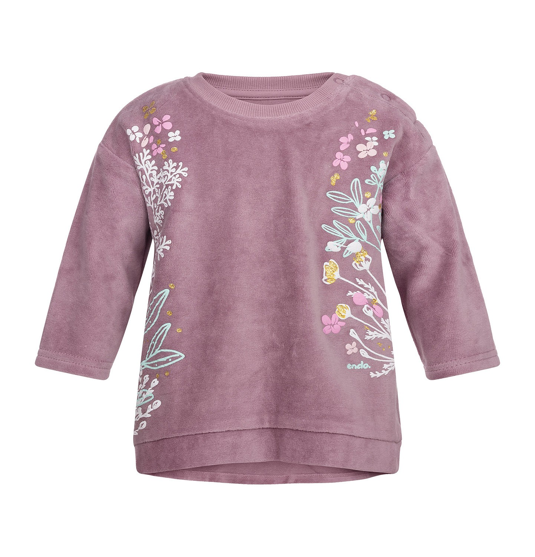 Endo - Bluza welurowa dla dziewczynki 0-3 lata N82C016_1