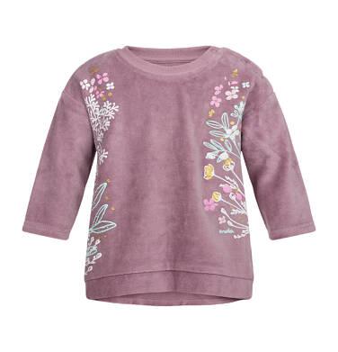 Bluza welurowa dla dziewczynki 0-3 lata N82C016_1