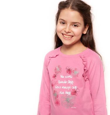 Endo - T-shirt z długim rękawem dla dziewczynki 9-13 lat D82G570_1