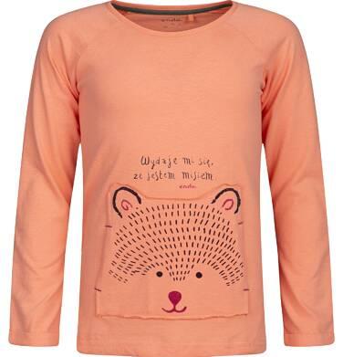 Endo - T-shirt z długim rękawem dla dziewczynki 9-13 lat D82G578_1