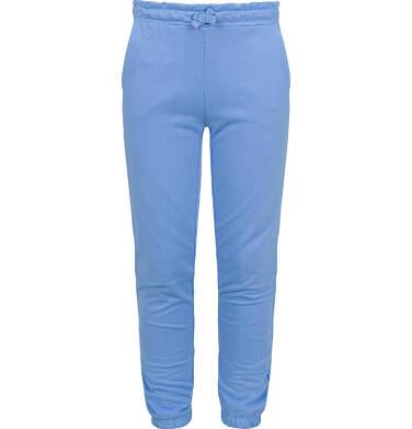 Endo - Spodnie dresowe dla dziewczynki, niebieskie, 9-13 lat D03K569_2 2