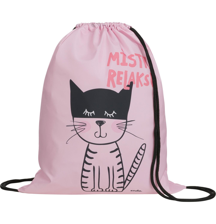 Endo - Plecak - worek, mistrz relaksu, różowy SD03G016_1