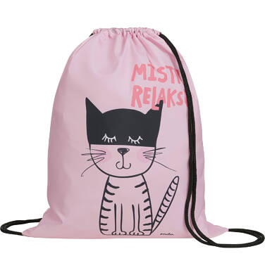 Endo - Plecak - worek, mistrz relaksu, różowy SD03G016_1 1