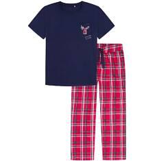 Endo - Piżama z długimi spodniami męska Q72V002_1