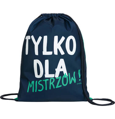 Worek-plecak dla chłopca, mistrz jest jeden, zielony SD03G017_1