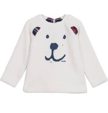 Endo - Polarowa bluza dla niemowlaka N62C023_1