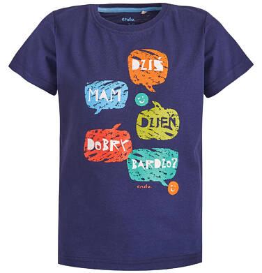 Endo - T-shirt dla chłopca 3-8 lat C81G012_1