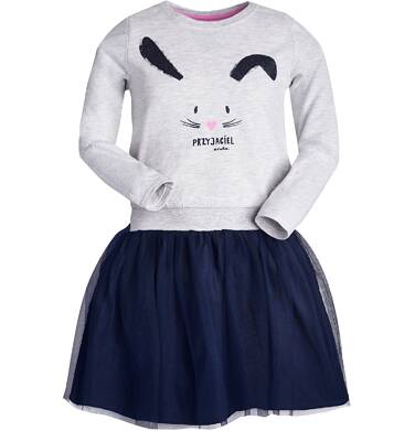 """Endo - """"Przyjaciel"""" Sukienka z długim rękawem dla dziewczynki 9-13 lat D82H550_1"""