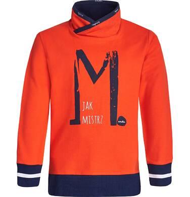 """Endo - """"M jak Mistrz"""" Bluza nierozpinana dla chłopca 3-8 lat C82C002_1"""