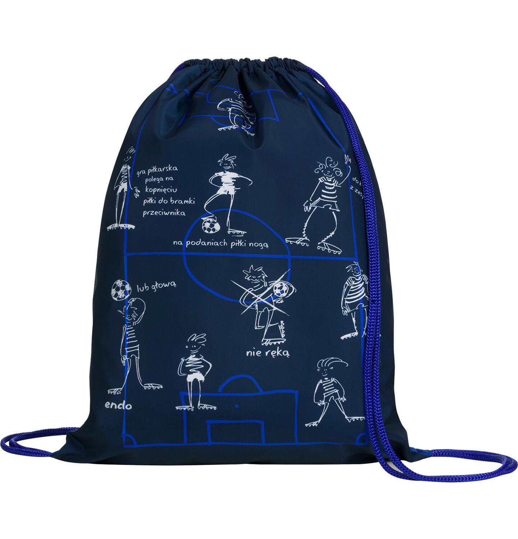 Endo - Worek-plecak dla chłopca, bramki są dwie, niebieski SD03G018_1