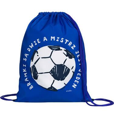 Endo - Worek-plecak dla chłopca, bramki są dwie, niebieski SD03G018_1,2