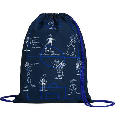 Worek-plecak dla chłopca, bramki są dwie, niebieski SD03G018_1