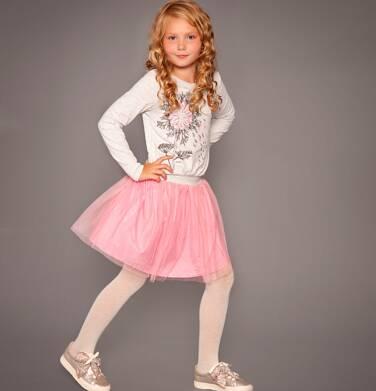 Sukienka z długim rękawem dla dziewczynki 3-8 lat D82H051_1
