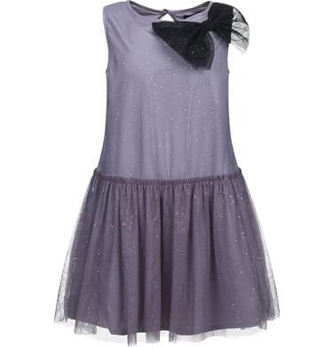 Endo - Sukienka z tiulu bez rękawów dla dziewczynki 9-13 lat D82H538_1