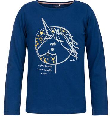 Endo - T-shirt z długim rękawem dla dziewczynki 9-13 lat D82G589_1